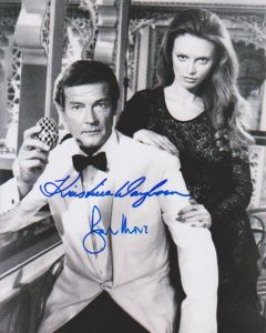 Sir Roger Moore & Kristina Wayborn James Bond 007