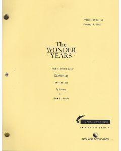 "The Wonder Years ""Double Double Date"" 1992 Original Script"