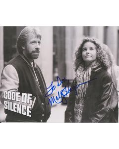 Molly Hagan (Signature personalized to Don)