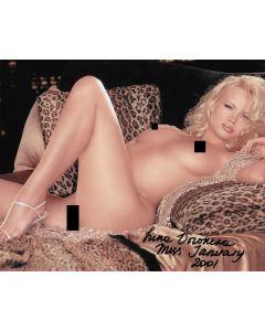 Irina Voronina original autographed 8X10 photo nude #4