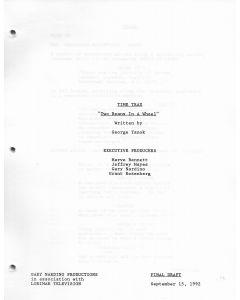 "Time Trax ""Two Beans in a Wheel"" 1992 Original Script"