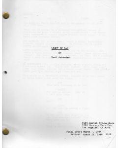Light of Day (1986) original script starring Michael J. Fox, Gena Rowlands and Joan Jett