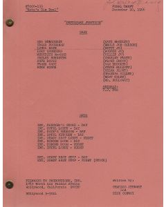"""Petticoat Junction """"Kate's Big Deal"""" original script autographed and hand annotated by Linda Kaye Henning"""