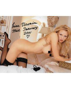 Irina Voronina original autographed 8X10  photo nude #5