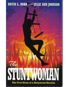 The Stuntwoman BOOK signed by author Julie Ann Johnson