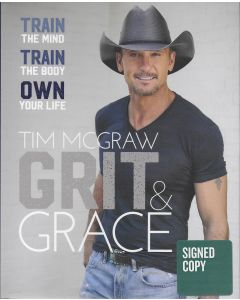 Grit & Grace BOOK signed by author Tim McGraw