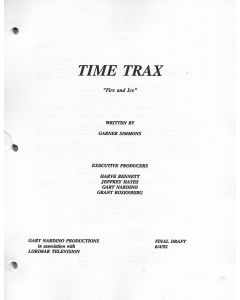 """Time Trax """"Fire and Ice"""" 1992 Original Script"""
