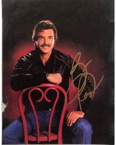 Burt Reynolds (1936-2018) 11X14 signed book page
