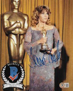 Jane Fonda 8X10 photo w/Beckett COA #3