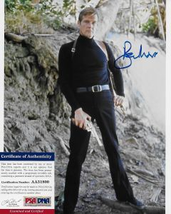 Sir Roger Moore (1927-2017) Bond 007 8X10 with PSA/DNA COA 4