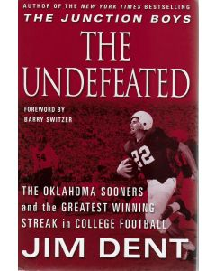 The Undefeated BOOK signed by author RJim Dent (personalized to Craig)