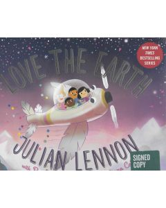 Love the Earth BOOK signed by author Julian Lennon