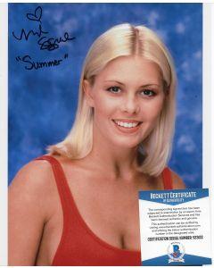 Nicole Eggert 8X10 w/Beckett COA #13