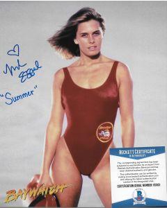 Nicole Eggert 8X10 w/Beckett COA #14