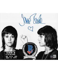 Jane Fonda 8X10 photo w/Beckett COA #4