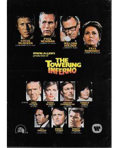 Towering Inferno (1974) original Japanese movie program ***LAST ONE***