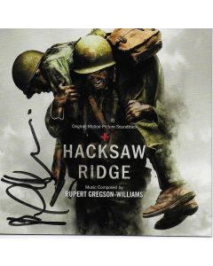 Hacksaw Ridge (Soundtrack) signed by Rupert Gregson-Williams