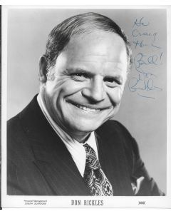 Don Rickles (1926-2017) 8X10 (signature personalized to Craig)