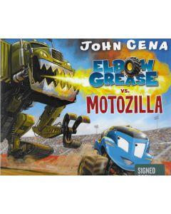Elbow Grease vs. Motozilla BOOK signed by author John Cena