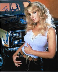 Heather Thomas The Fall Guy 8X10 (Personalized to Bart)