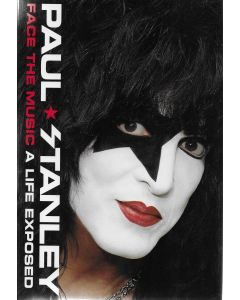Face The Music BOOK signed by Paul Stanley