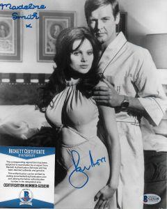 Sir Roger Moore (1927-2017) Bond 007 8X10 with Beckett COA #6