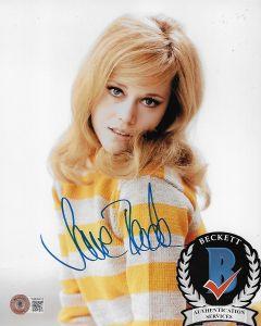 Jane Fonda 8X10 photo w/Beckett COA #7