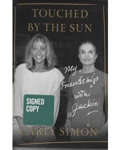 Touched by the Sun BOOK signed by author Carly Simon