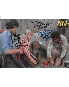 Land of the Lost cast of 3 8X10 (Personalized to Tony)
