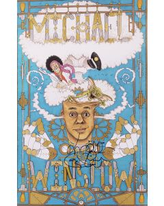 Michael Winslow Original Autographed 11X17 poster ***LAST ONE***