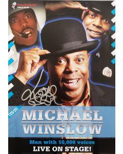 Michael Winslow Original Autographed 11X14 poster ***LAST ONE***