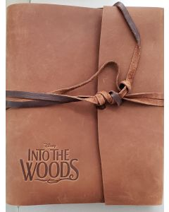 """""""Into the Woods"""" leather bound presentation script  autographed James Lapine 3"""