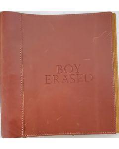 Boy Erased original script autographed by Nicole Kidman, Joel Edgerton, Troye Sivan, Lucas Hedges