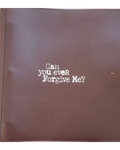 Can  You Ever Forgive Me? original script autographed by Melissa McCarthy, Richard E Grant