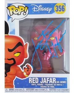"Aladdin ""Red Jafar"" Funko Pop #356 Vinyl Figure signed by Jonathan Freeman **LAST ONE**"