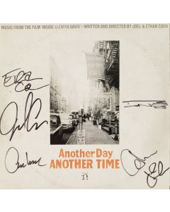 Another Day Another Time Promo LP Vinyl Record Rare Joel & Ethan Coen Signed +4