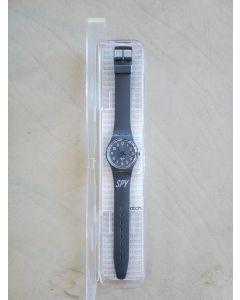 SPY Swatch Shiny Slate Gray GM179 promo watch