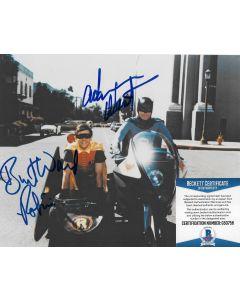 Adam West & Burt Ward Batman with Beckett COA