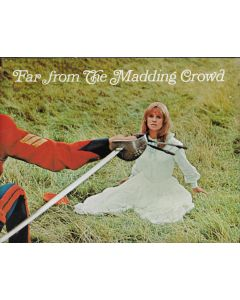 Far from the Madding Crowd movie program (1968) Christie, Finch -NOT A DVD- ***LAST ONE***