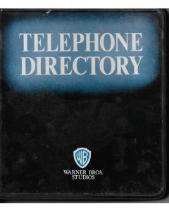 Warner Bros Studio Telephone Directory
