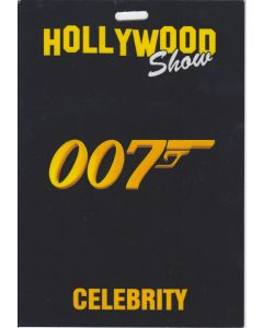 Limited Edition Hollywood Show Celebrity Pass James Bond Goldfinger