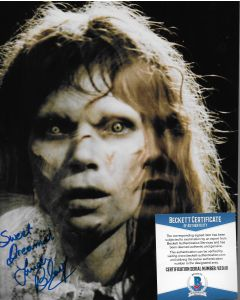 Linda Blair The Exorcist 8X10 w/Beckett COA #3