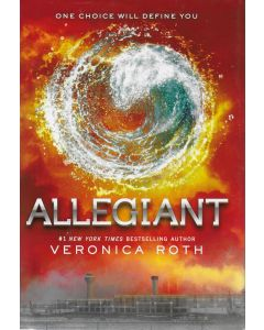 Allegiant BOOK signed by author Veronica Roth (personalized to Belle)