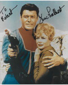 June Lockhart 8X10 (Signature personalized to Robert)