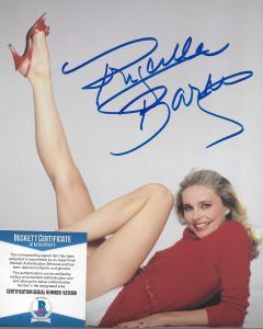 Priscilla Barnes Three's Company 8X10 w/Beckett COA