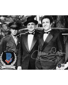 James Caan Godfather 8X10 photo w/Beckett COA