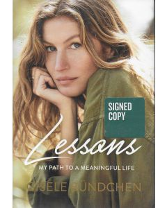 Lessons BOOK signed by author Gisele Bundchen