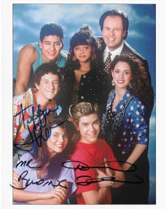 Tiffani Theissen Dennis Haskins Saved By the Bell 8X10