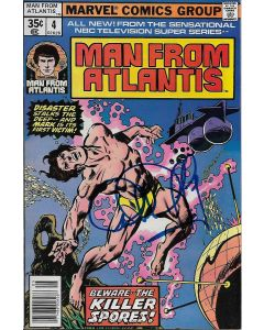 Man From Atlantis comic book signed by Patrick Duffy #4
