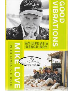 Good Vibrations BOOK signed by author Mike Love